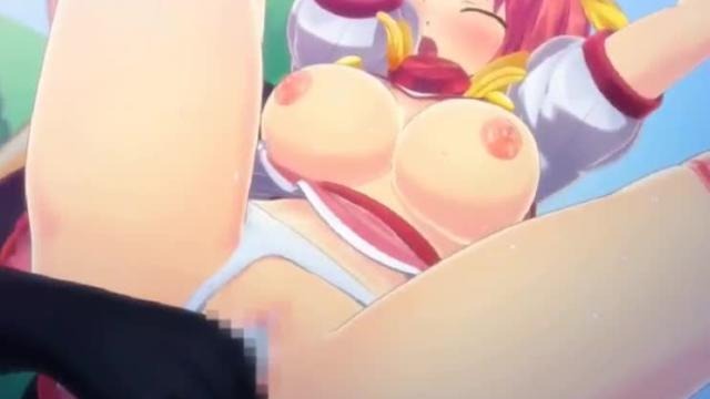 3d hentai game | schoolgirl with huge tits
